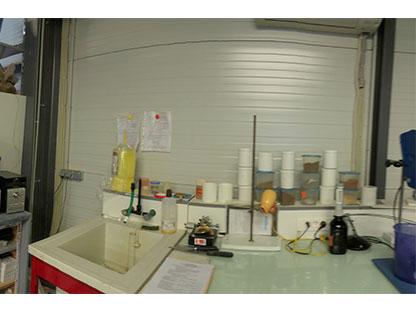 Laboratoire Terrassement